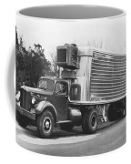 Refrigerated Semi Trailer Coffee Mug