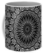 Regalia Black And White No. 4 Coffee Mug