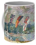 Regatta At Molesey Coffee Mug by Alfred Sisley