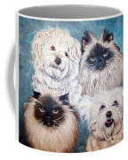 Reigning Cats N Dogs Coffee Mug