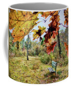 Relax And Watch The Leaves Turn Coffee Mug