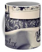 Relax In Blue Coffee Mug