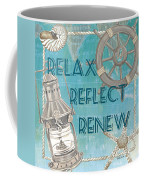 Relax Reflect Renew Coffee Mug