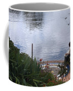 Relaxing By The Lake Coffee Mug