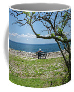 Relaxing By The Shore Coffee Mug