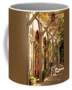 Relaxing In The Breezeway Coffee Mug