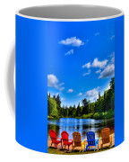 Relaxing On The Moose River Coffee Mug