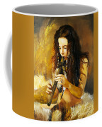 Release Coffee Mug by J W Baker