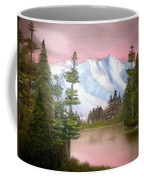 Relections In Pink Coffee Mug