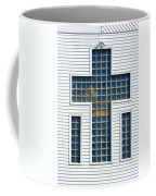 Religion Window Cross Coffee Mug