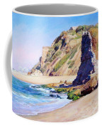 Remains Of Ancient Constructions On Seacoast  Coffee Mug