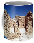Remains Of The Massada Synagogue Coffee Mug