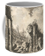 Remains Of The Temple Of Castor And Pollux Coffee Mug