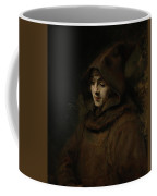 Rembrandt's Son Titus In A Monk's Habit Coffee Mug
