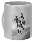 Remington: Comanche, C1890 Coffee Mug
