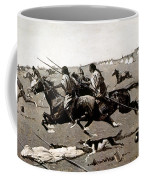 Remington: Native American Village Coffee Mug