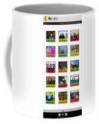 Remix - Artists Page  Coffee Mug