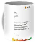 Remix - Letterhead Coffee Mug