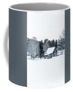 Remote Cabin In Winter Coffee Mug