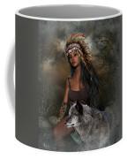 Rena Indian Warrior Princess Coffee Mug