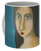 Renaissance Girl Coffee Mug