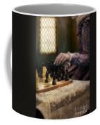 Renaissance Lady Playing Chess Coffee Mug