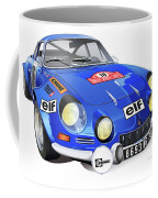 Alpine Renault A110 Coffee Mug