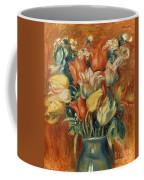 Renoir: Bouquet Of Tulips Coffee Mug by Granger