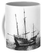 Replica Of Columbus's Nina Coffee Mug