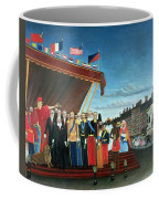 Representatives Of The Forces Greeting The Republic As A Sign Of Peace Coffee Mug