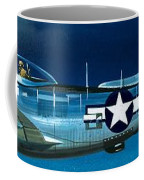 Republic P-47n Thunderbolt Coffee Mug