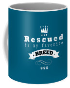 Rescued Crown Light Coffee Mug