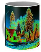 Residential Spokane In Cosmic Winter Coffee Mug