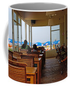 Restaurant On A Beach In Tel Aviv Israel Coffee Mug