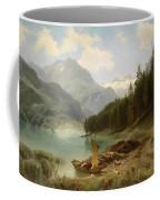 Resting By The Mountain Lake Coffee Mug