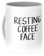 Resting Coffee Face-art By Linda Woods Coffee Mug