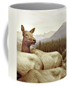 Resting Deer Coffee Mug
