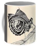 Resting Monarch  Coffee Mug