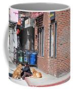Resting On The Corner Coffee Mug