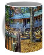 Restored Log Cabin Coffee Mug