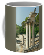 Restored Roman Columns In Glanum Coffee Mug