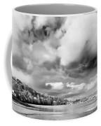 Restronguet Weir In Monochrome Coffee Mug