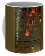 Retaining Wall In Autumn Coffee Mug