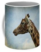 Reticulated Giraffe Head Coffee Mug