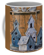 Retired Bird Houses By Prankearts Fine Arts Coffee Mug