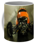 Retro Car In Orange Coffee Mug