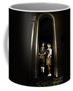Retro Couple On Safari Coffee Mug