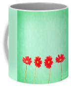 Retro Flowers Coffee Mug