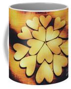 Retro Heart Connection Coffee Mug