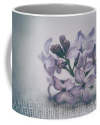 Retro Lilac Flower Coffee Mug